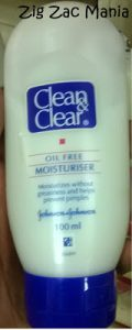My Acne Diary: Clean and Clear Oil Free Moisturiser Review