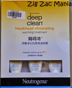 Neutrogena Deep Clean Blackhead Eliminating Warming Treatment Review