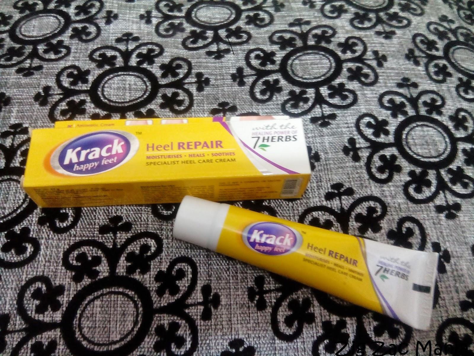 Krack Heel Repair Cream Review