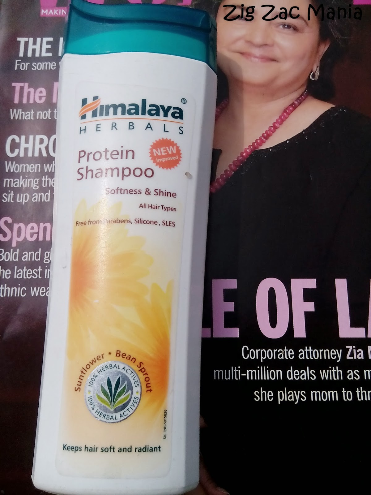 Himalaya Protein Shampoo Sun Flower & Bean Sprout Review