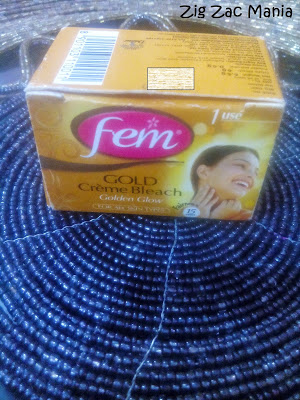 Fem Gold Crème Bleach Review