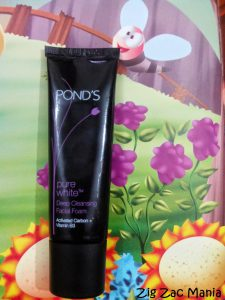 Pond's Pure White Deep Cleansing Facial Foam with Activated Carbon Review