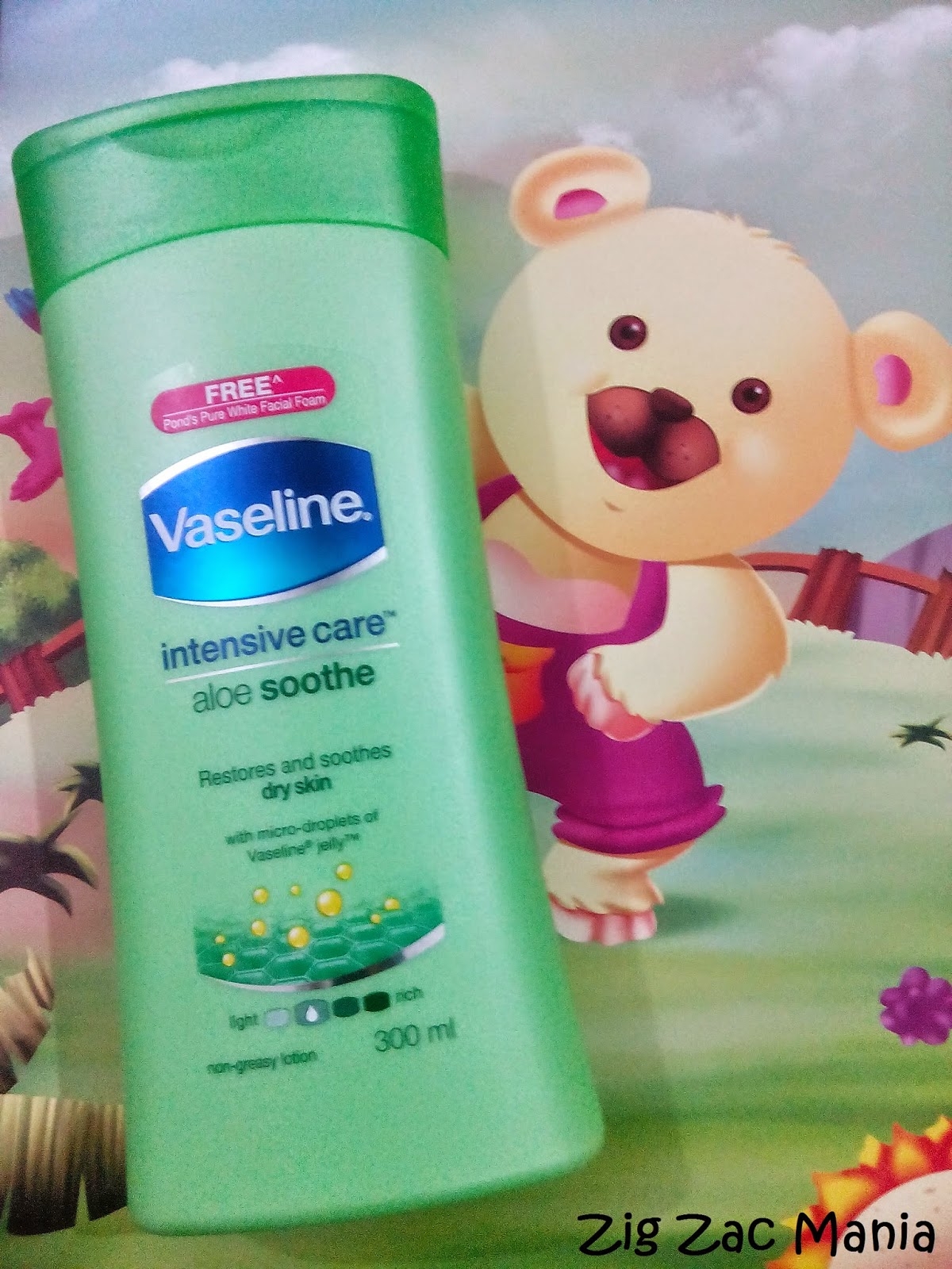 Vasline Intensive Care Aloe Soothe Lotion Review