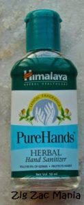Himalaya Pure Hands Herbal Hand Sanitizer Review