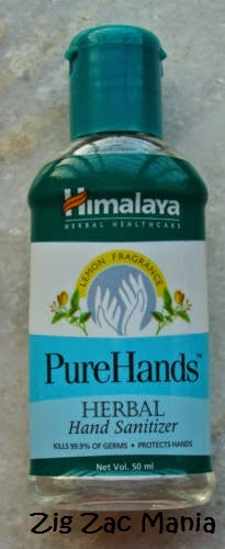 Himalaya Pure Hands Herbal Hand Sanitizer Review