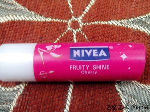 Nivea Fruity Shine Cherry Lip Balm Review