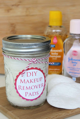 DIY: Homemade Makeup Remover Pads With Baby Products