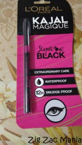 L'Oreal Paris Kajal Magique- Supreme Black Review