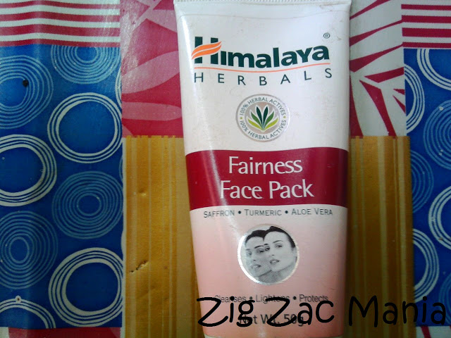Himalaya Herbals Fairness Face Pack Review