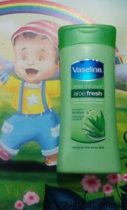 Vaseline Total Moisture Aloe Fresh Body Lotion Review