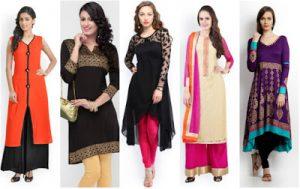 How To Choose Ethnic Wear Kurti As Per Your Body Shape