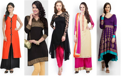 How To Choose Ethnic Wear Kurti As Per Your Body Shape
