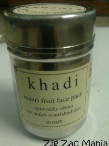 Khadi Mauri Fruit Face Pack Review