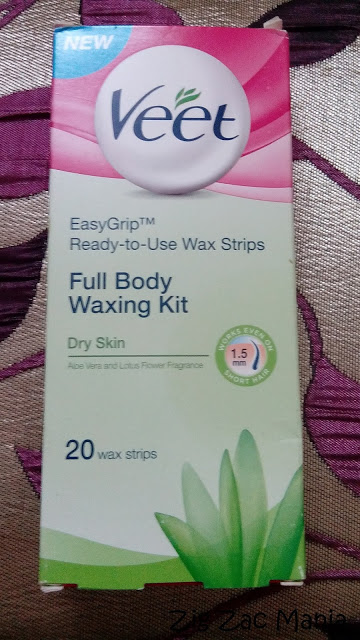 Veet Ready To Use Wax Strips (Dry Skin) Review
