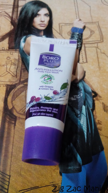 Boroplus Anti- Pollution Daily Face Wash Review