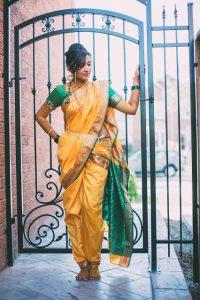 How to Drape a Saree in Maharashtrian Style