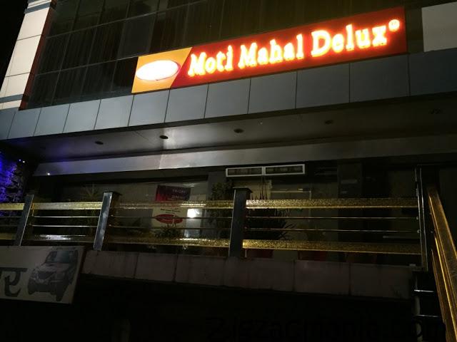 Moti Mahal Delux Restaurant Agra Review