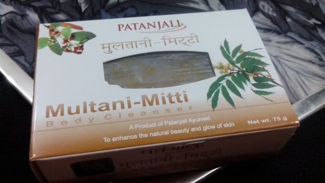 Patanjali Multani Mitti (Fuller's Earth) Body Cleanser (Soap) Review