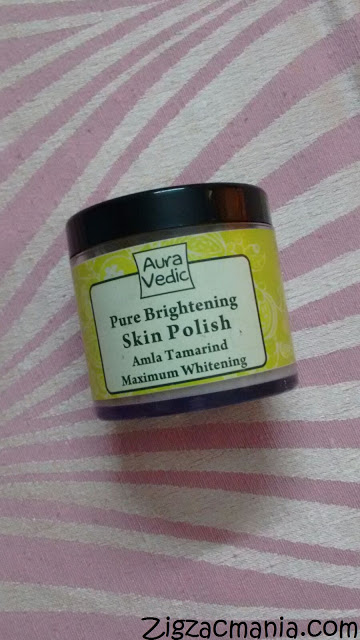 Aura Vedic Pure Brightening Amla Tamarind Skin Polish Review