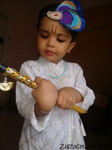Toddlers As Lord Krishna