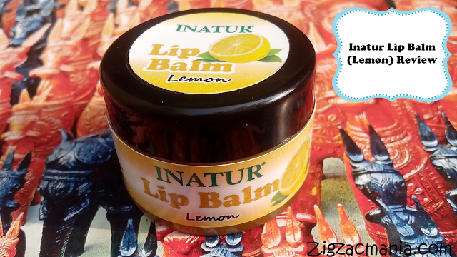 Inatur Herbals Lip Balm (Lemon) Review