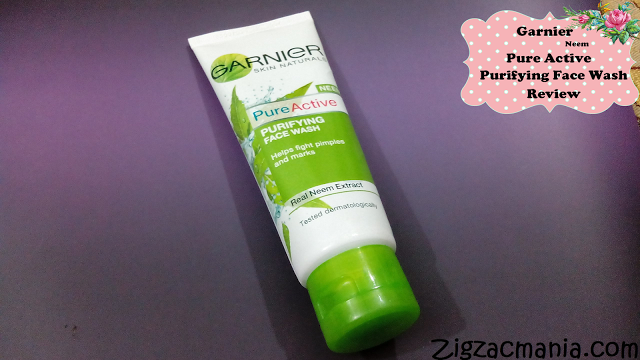 Garnier PureActive Neem Purifying Face Wash Review