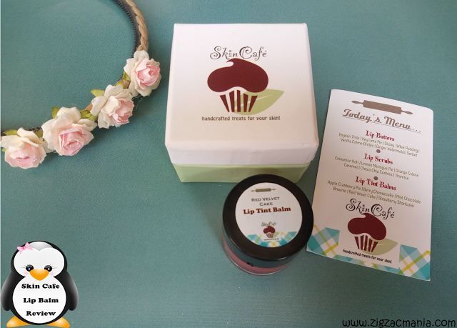 Skin Café Red Velvet Cake Lip Tint Balm Review