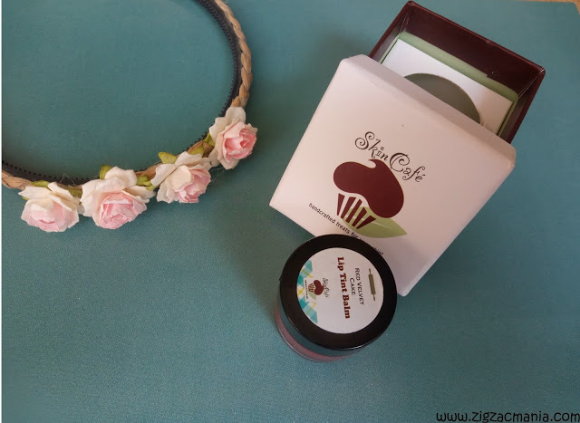 Skin Café Red Velvet Cake Lip Tint Balm: tinted, non tinted balms online