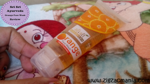 Sri Sri Ayurveda Orange Face Wash Review