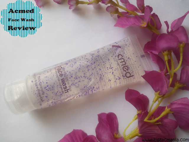 Acmed Gentle Pimple Care Face Wash Review