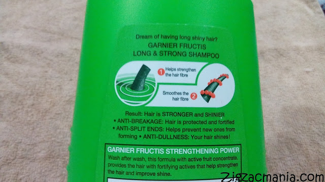 Garnier Fructis Long & Strong Strengthening Shampoo: Ingredients