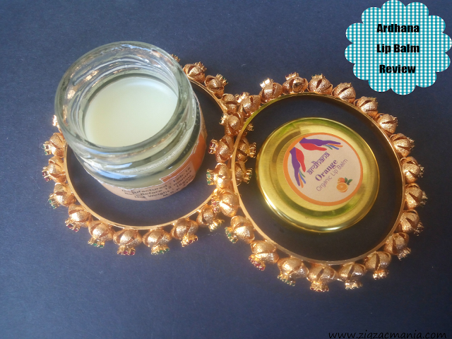 Ardhana Orange Lip Balm Review