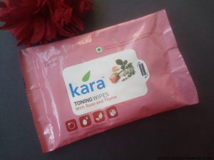 Kara Toning Wipes with Rose and Thyme Review
