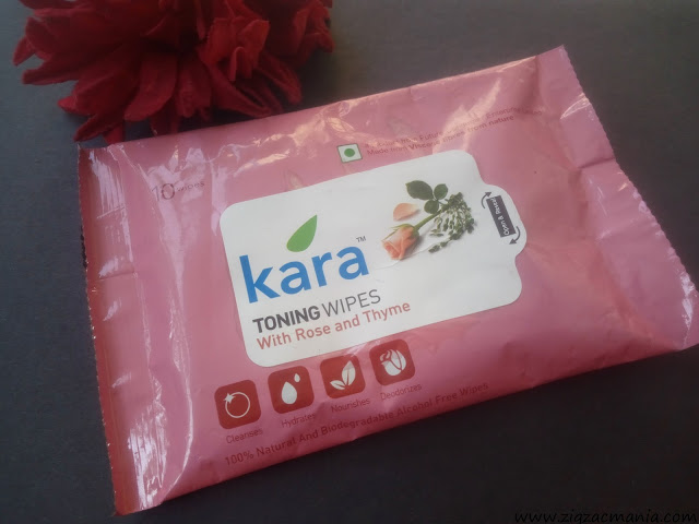 Kara Toning Wipes For Makeup Removal
