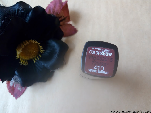 Maybelline ColorShow Lipstick (410 Wine Divine) Price