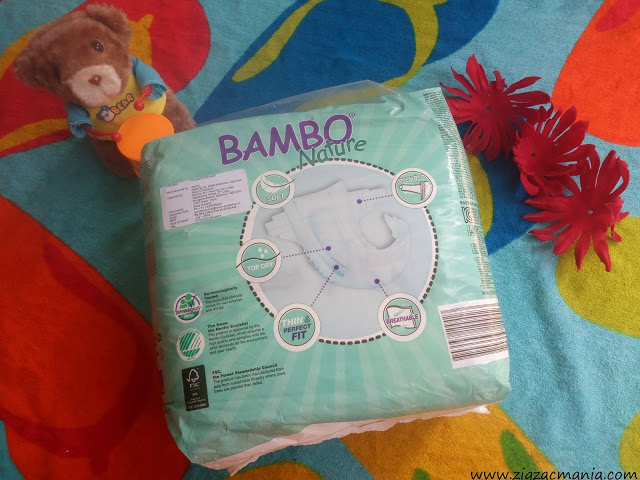 Bambo Nature Diapers Packaging