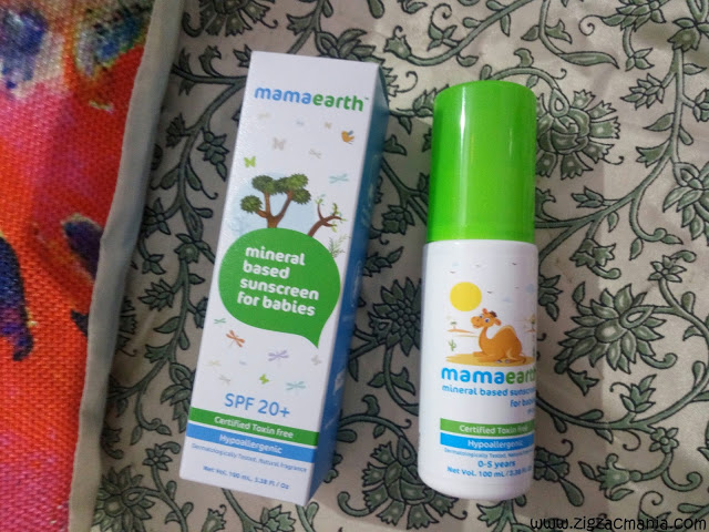 Sunscreen for baby