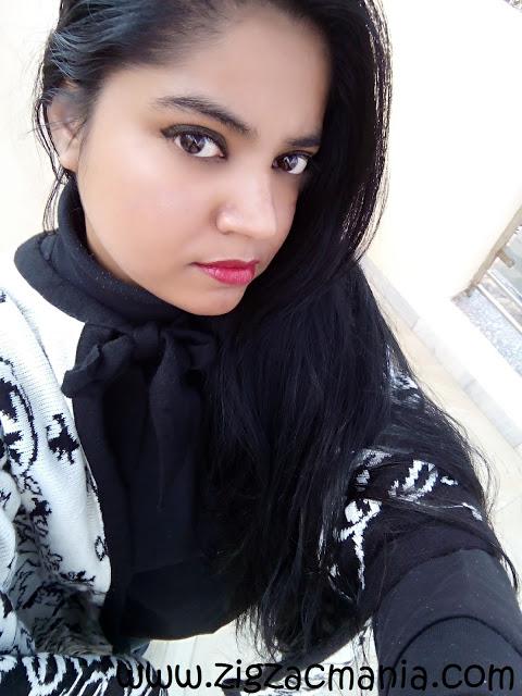 Winter selfie