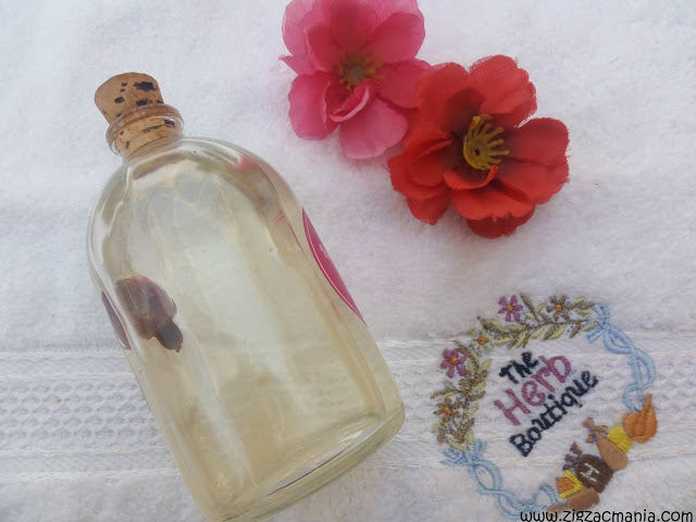 The Herb Boutique Pink Rouge Body Oil Review