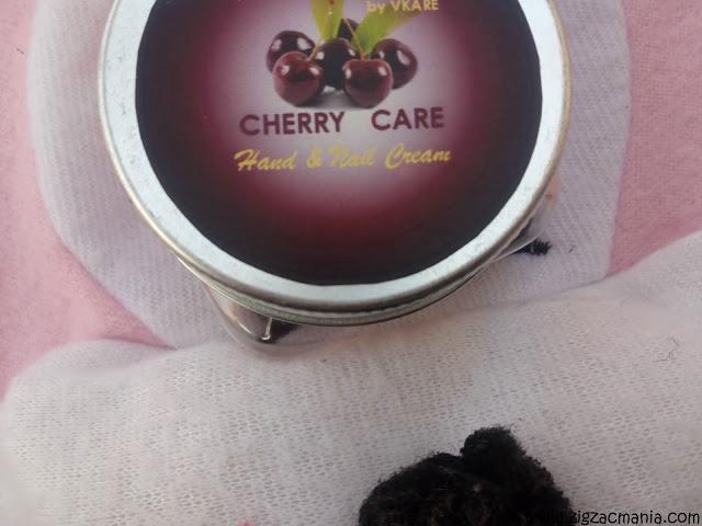 Fuschia (VKare) Cherry Hand & Nail Cream
