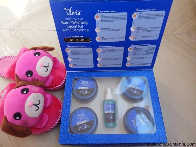 Olivia Diamond Facial Kit Review