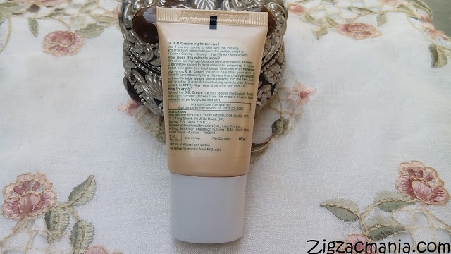 Garnier B-B Cream (Miracle Skin Perfector) Review