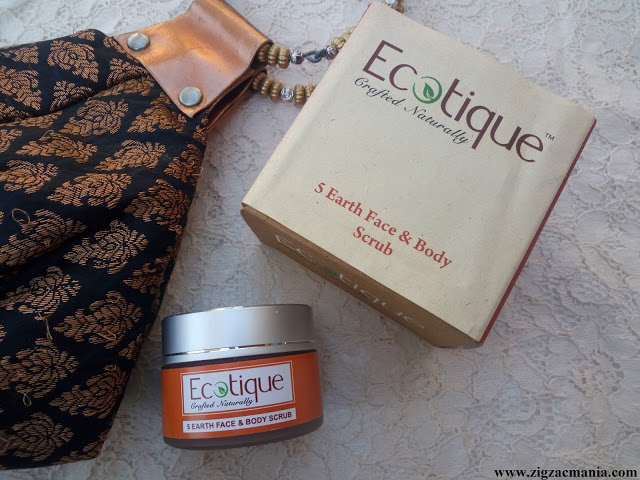 Ecotique 5 Earth Face & Body Scrub Review