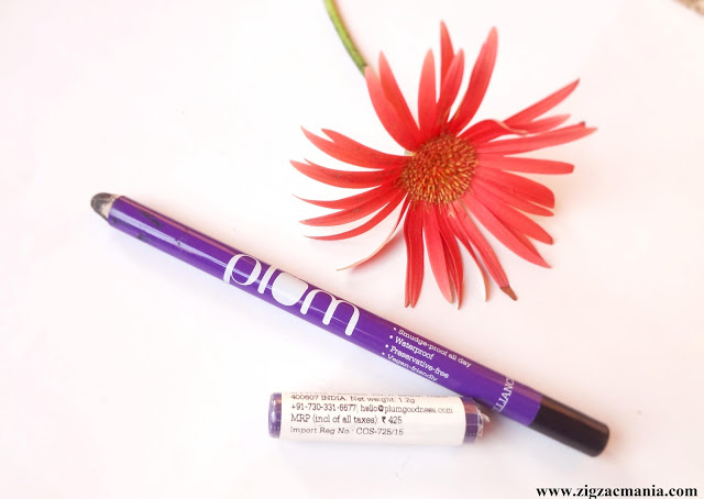 Plum NaturStudio All-Day-Wear Kohl Kajal: Review & Swatch