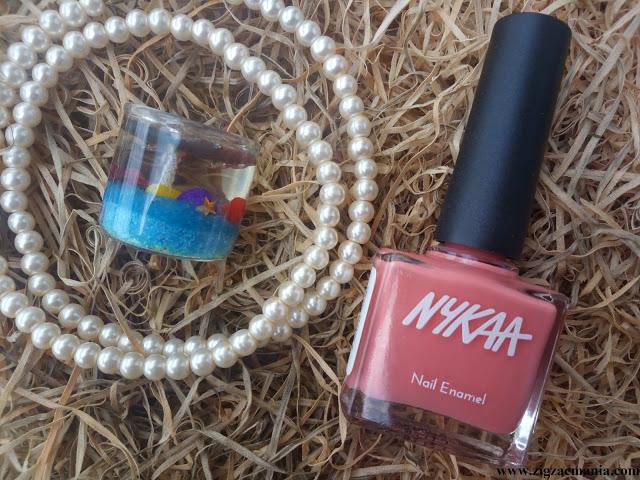 Nykaa Pastel Nail Enamel Collection Pomegran-ita (Shade no.47) Review