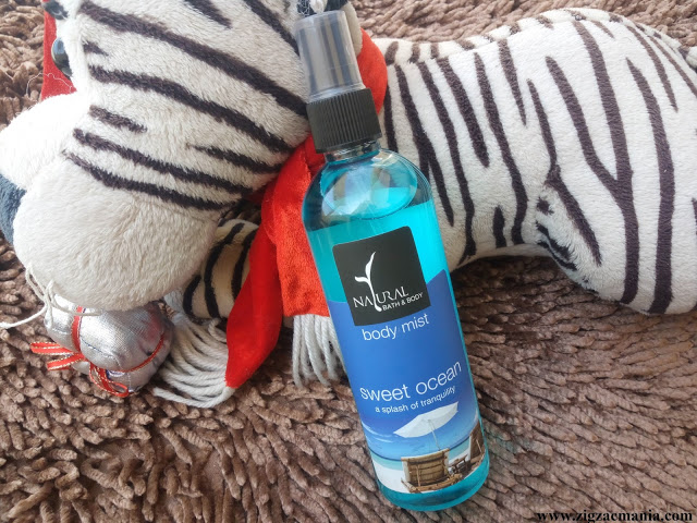 Natural Bath & Body Sweet Ocean Body Mist Review
