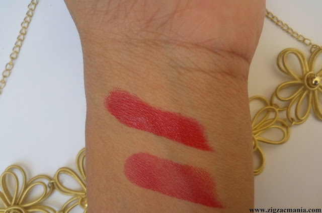 Elle-18 Color Pops Matte Selfie Red (R34) Review & Swatches