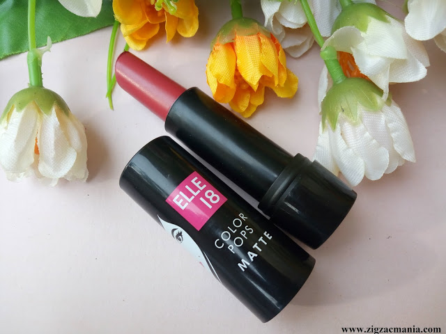 Elle-18 Color Pops Matte Pink Kiss (P21) Review