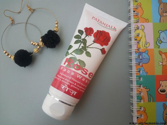 Patanjali Rose Face Wash Review