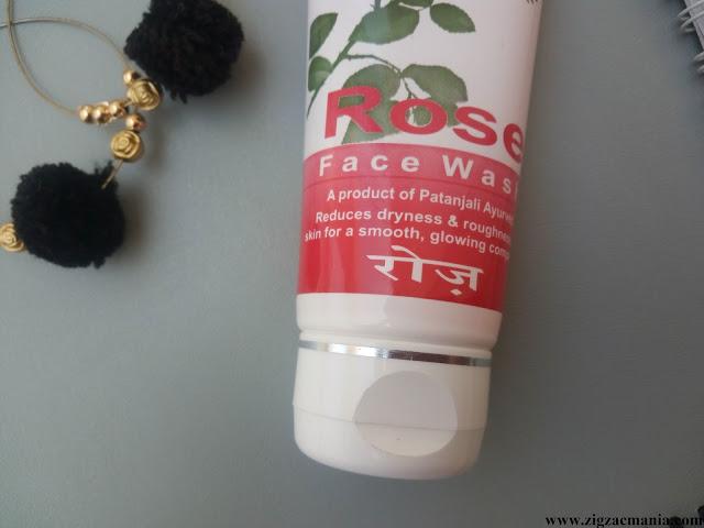 Patanjali Rose Face Wash Review: Ingredients
